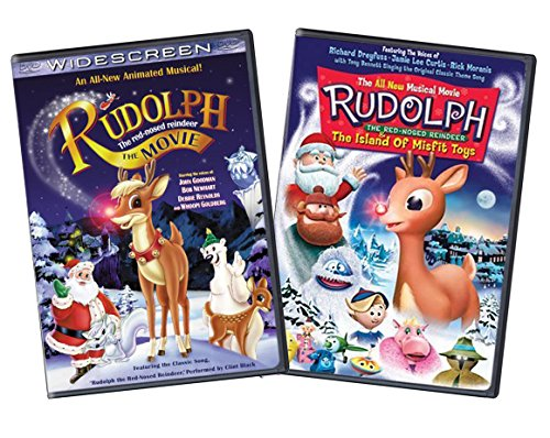 d Reindeer / Rudolph & The Island of Misfit Toys (Two-Pack) DVD set (Rudolph Island Misfit Toys Dvd)