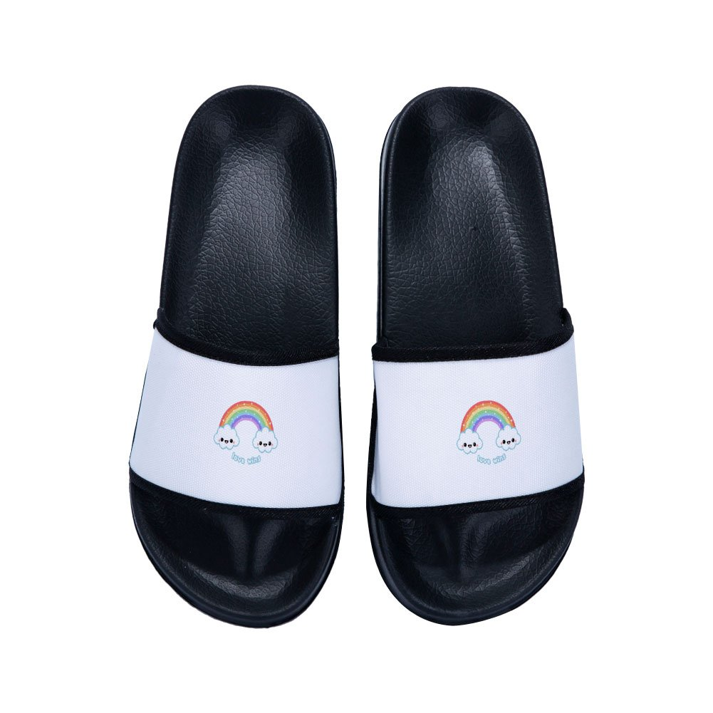 Little Kid//Big Kid Chad Gold Slide Sandals for Girls Boys Comfortable Soft Sole Shower Slipper