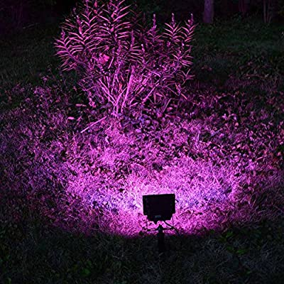 Solar powered outdoor led Garden Lights 20 LEDs Solar Floodlights Spotlights Solar Lamp bulbs with remote control