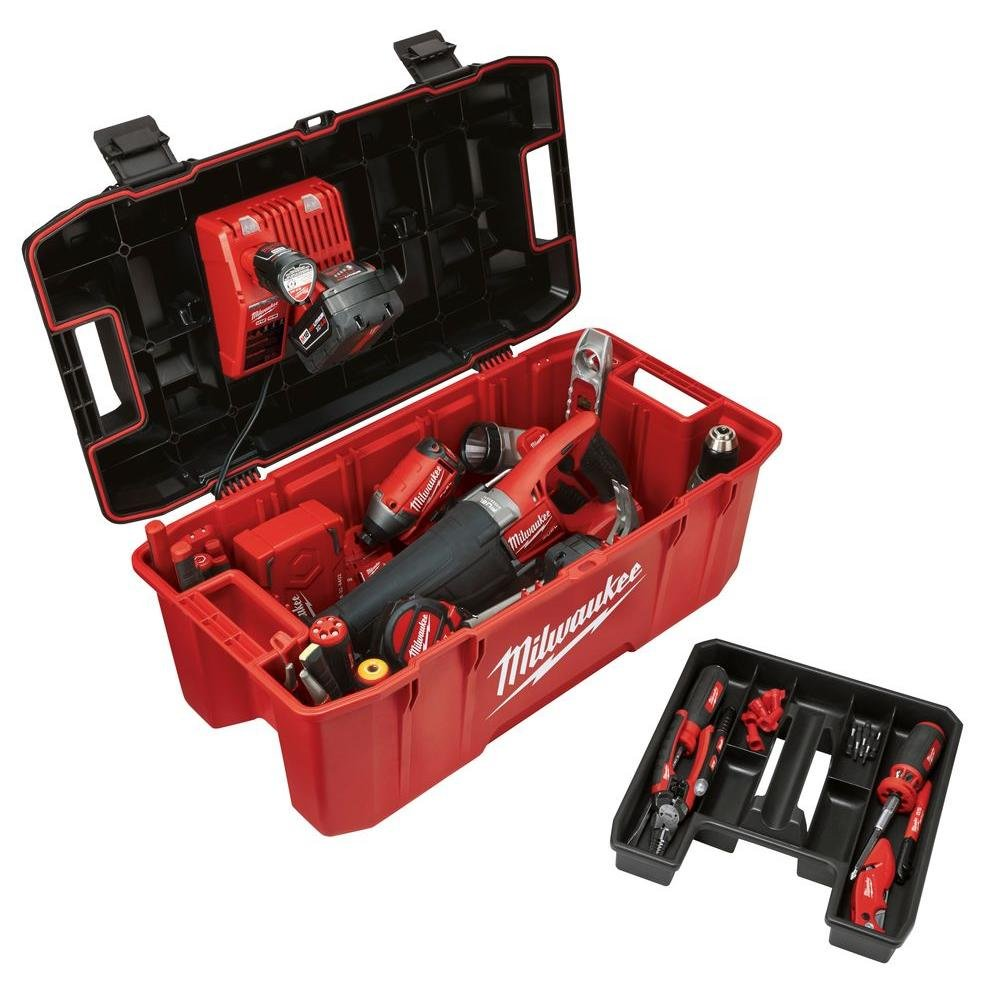 Jobsite Tool Box MILWAUKEE 26 In