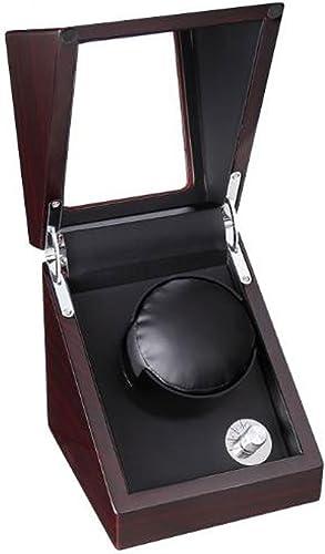 Caja Relojes Automaticos Caja de Reloj Gira la Caja del Reloj y Gira automáticamente (Color : Black): Amazon.es: Relojes