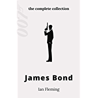 James Bond (15 Books) The Complete Collection: Casino Royale, Live and Let Die, Moonraker, Diamonds are Forever, From…