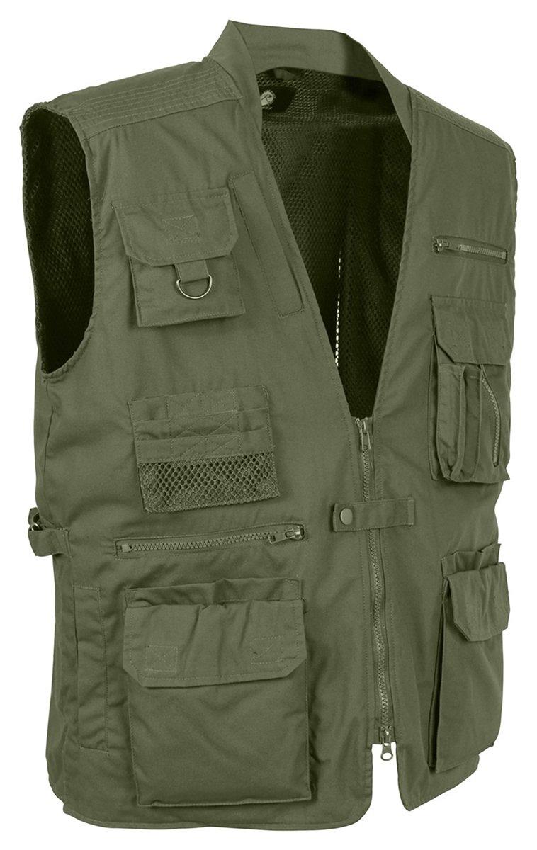 ロスコ コンシールドキャリーベスト 私服タイプ Rothco Plainclothes Concealed Carry Vest 8567 B008Y0JJ2I L|オリーブドラブ オリーブドラブ L