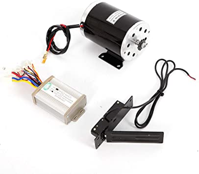 1000 W 48V electric scooter motor kit w BASE+control box key lock /& Throttle