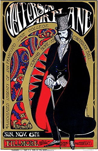 Jefferson Airplane Posters For Sale Only 4 Left At 75