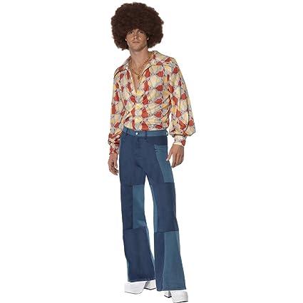 économiser 28cc4 630da NET TOYS Costume Hippie années 70 déguisement Hippie M 50/52 ...