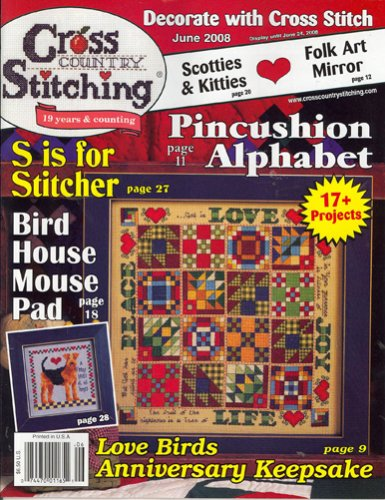 (Cross Country Stitching, June 2008 Issue)