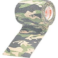 Baoblaze Elastic Camouflage Elastic Self Adhesive Cohesive Wrap Self Adherent Bandage First Aid Sports Tape Roll for…