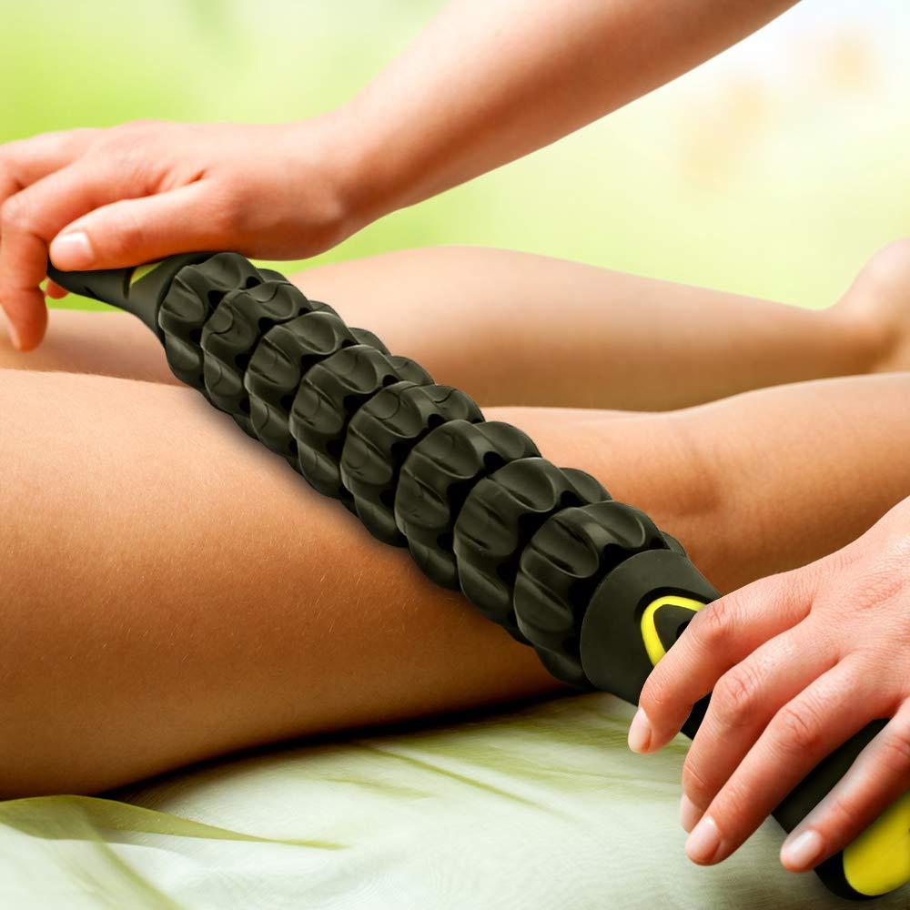 Pied Bras etc. Jambes CampTeck B/âton de Massage Sport Rouleau Massage /à Main pour Soulager Courbatures Crampes Douleurs Musculaire Dos