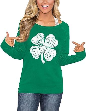 St Patrick/'s Day Shirt Irish Gifts Irish St Patrick/'s Shirt for Women Hoodie Women Zip Up Hoodie Women St Patrick/'s Day Tee