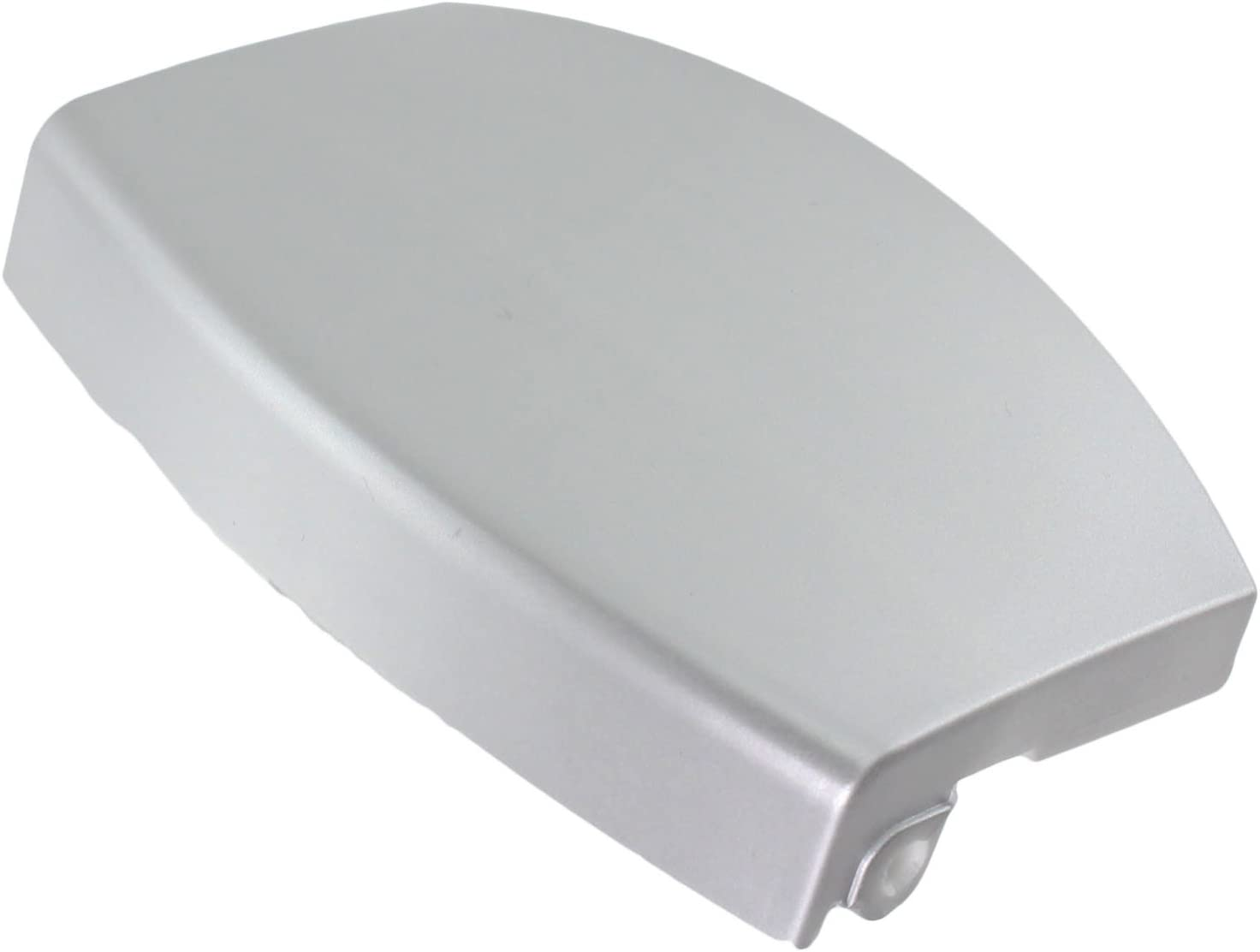 Spares2go plástico–Manilla de puerta para Aeg lavadoras (plata)