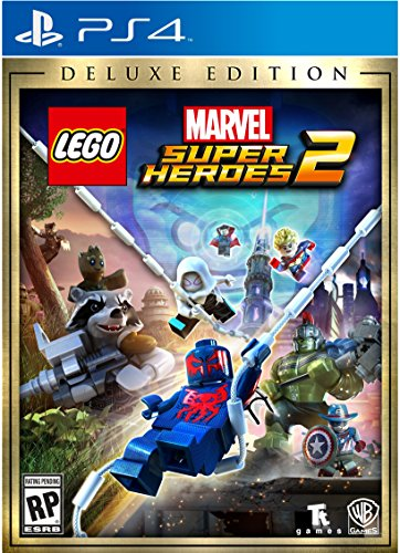 Lego Marvel Superheroes 2 Deluxe   Playstation 4