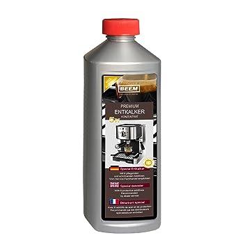 Beem Premium descalcificador concentrado descalcificador (apto para todas las máquinas de café, incluso Cápsulas): Amazon.es: Hogar