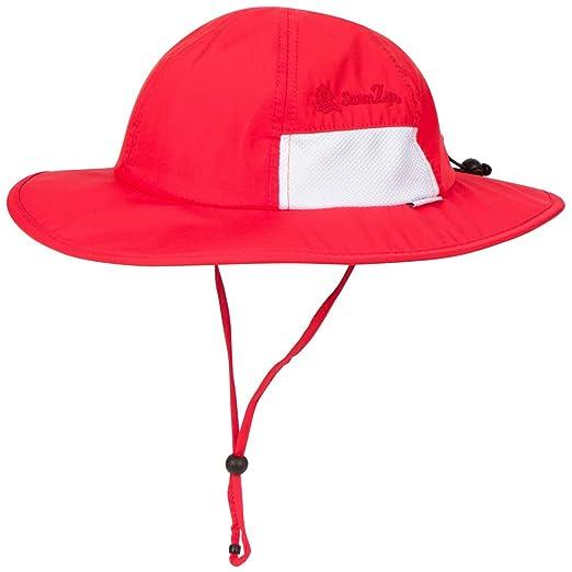 270a2a5e Amazon.com: SwimZip Unisex Child Wide Brim Sun Protection Hat UPF 50  Adjustable: Clothing