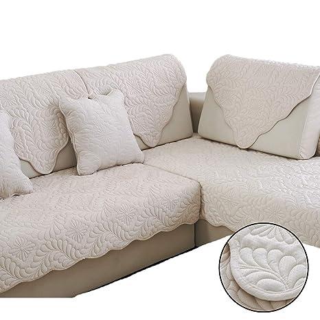 UMOOIN Fundas de sofá 2 plazas, Funda de sofá de Felpa Corta ...