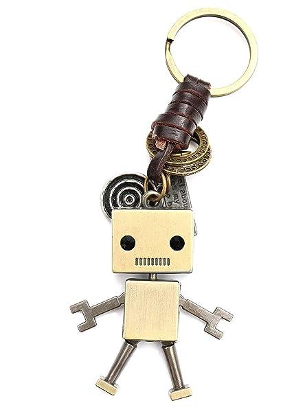 Sucolin - Llavero con Forma de Robot para Hombre y Mujer ...