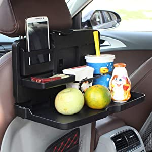 car cup holder, cup holder is foldable universal cup holder for car car seat back tray cup holders for food tray beverage rack automatic rear seat table tray telephone holder car cup holder organizer