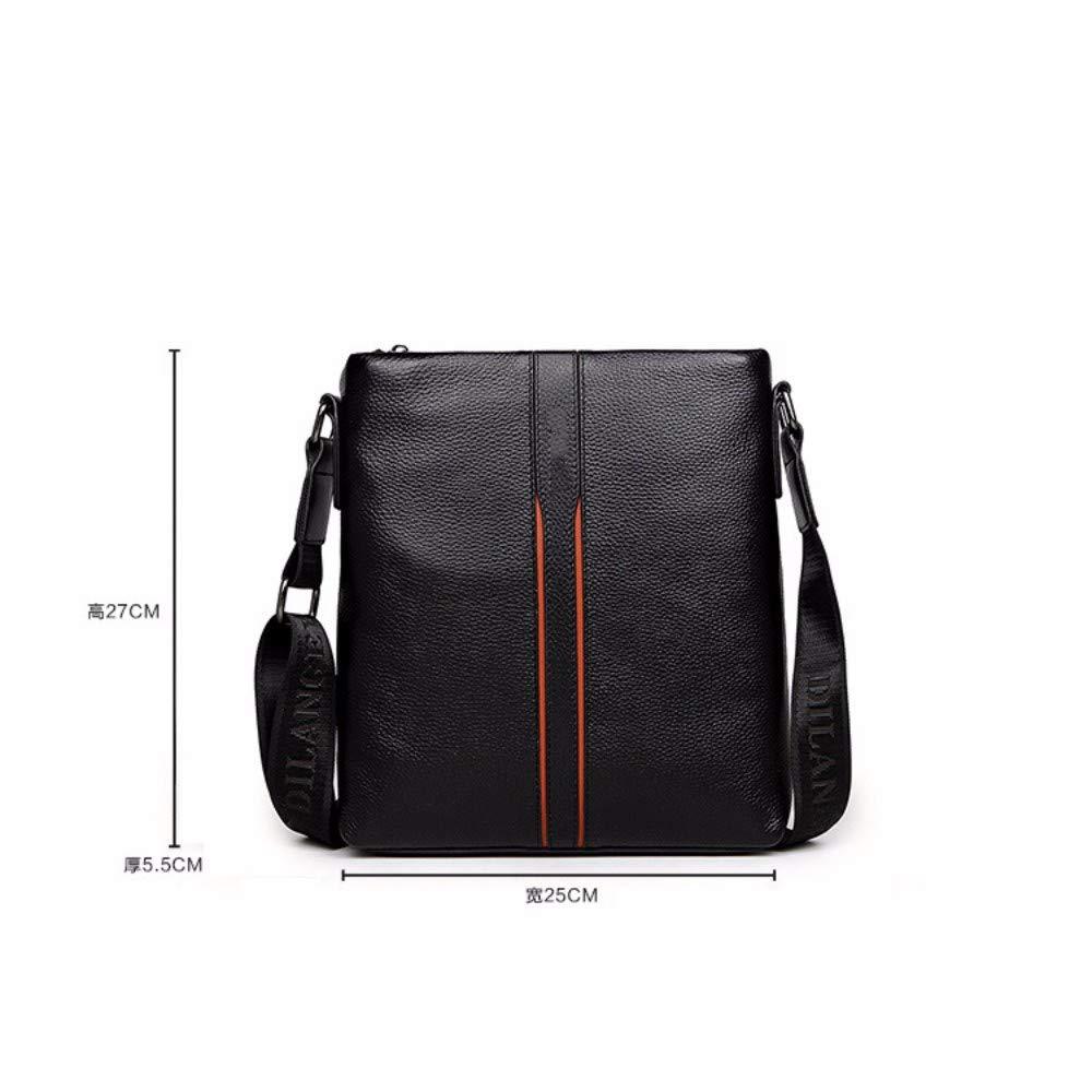 NDFSE-Herrentaschen Mens Bag One Shoulder Bag Inclined Briefcase Business Leisure Men,Black