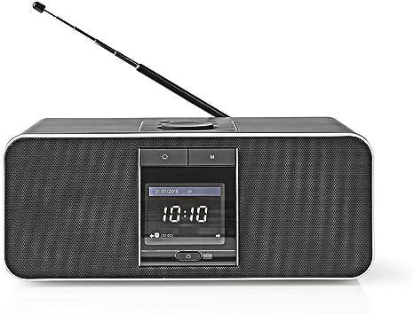 Nedis - Radio por Internet - 42 W - Dab+ - FM: Amazon.es: Electrónica