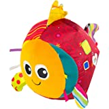 Lamaze Rolling Rosa Toy Help Baby Reach, Push, and Get Crawling by Supporting Tummy Time with Bright Colors, Easy Motion…