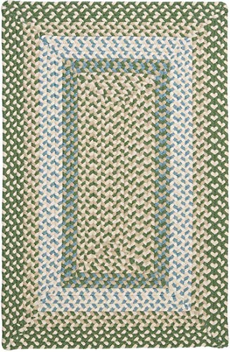 Colonial Mills MG19 Montego Area Rug, 5×8-Feet, Lily Pad Green