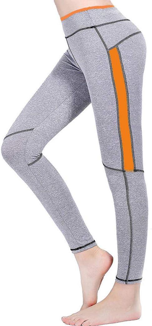 WUANNI Yoga De Tela De Malla EláSticos para Mujer Alta Pantalones ...