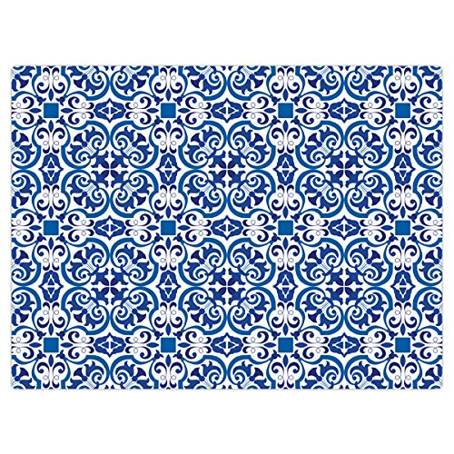 iStyle Moroccan Tiles Glass Worktop Saver