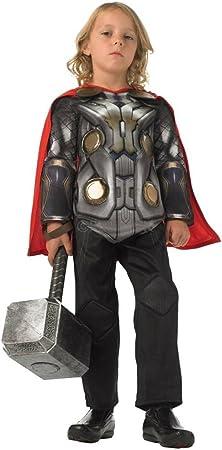 Rubbies - Disfraz de Thor para niño, talla M (116 cm) (886591M ...