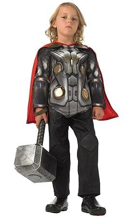 Rubbies - Disfraz de Thor para niño, talla M (116 cm ...