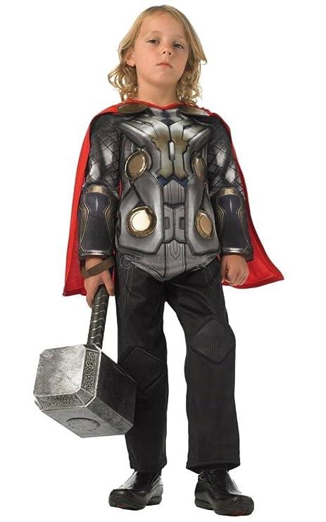 qualità incredibile miglior posto per come trovare Rubie's Deluxe Costume da Bambino, Avengers, Thor, 3/4 Anni