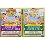 Earth's Best Organic Whole Grain Oatmeal & Multi-grain Cereal (One 8 Oz Box of Each)