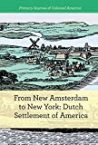 From New Amsterdam to New York: Dutch Settlement of America (Primary Sources of Colonial America)