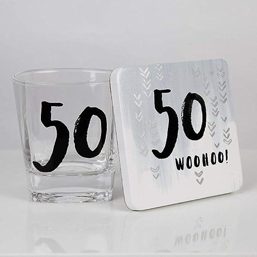 Compra Hotchpotch - Vaso y Posavasos de Whisky para 50 ...