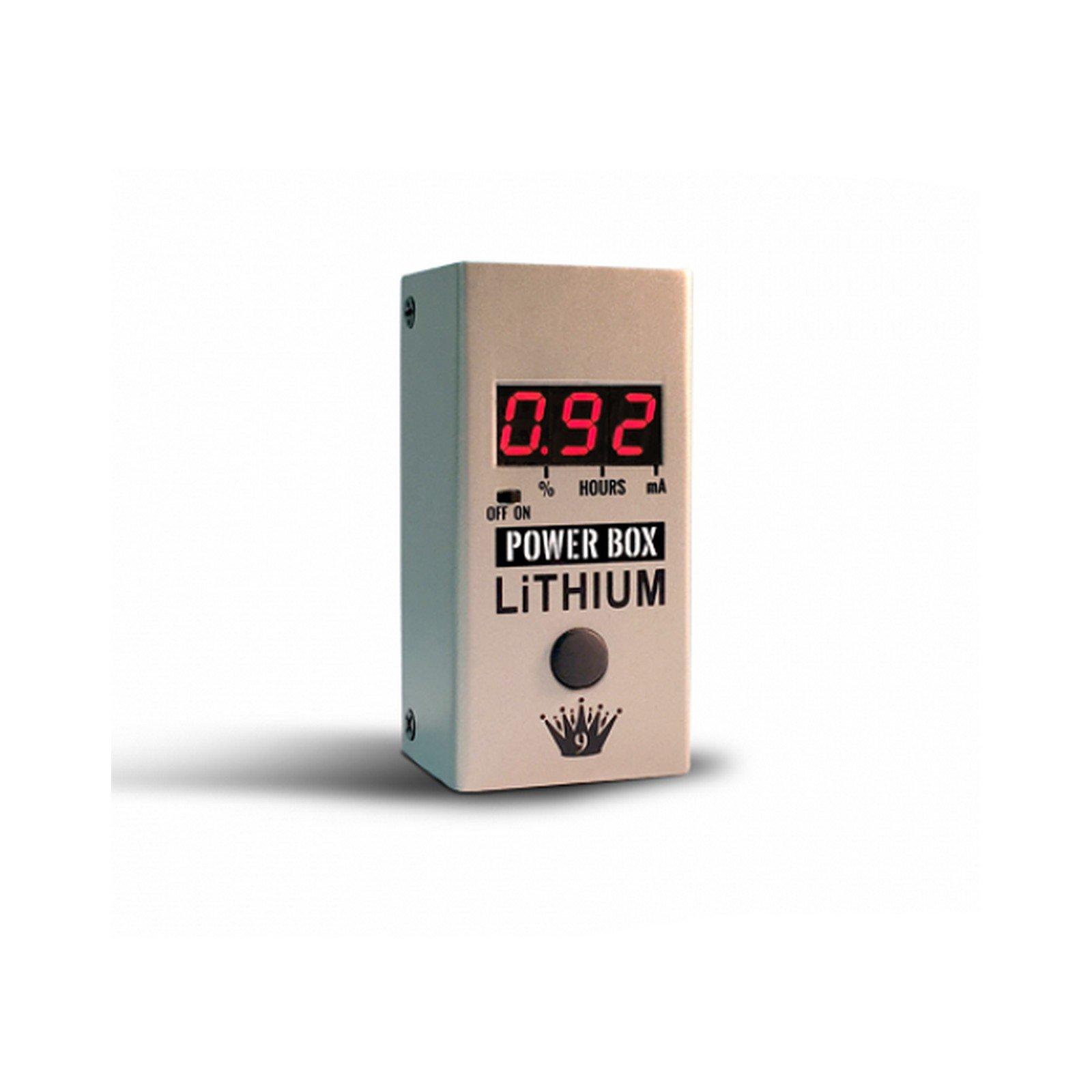 Big Joe Stomp Box Company PB-107 Power Box Lithium | 9v 500mA Rechargeable Lithium Battery Pedal Power Supply by Big Joe Stomp Box Company