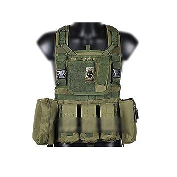 Worldshopping4U MOLLE RRV - Chaleco Militar táctico para Airsoft y Juegos de Guerra: Amazon.es: Deportes y aire libre