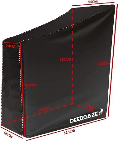 Cubierta Impermeable Protectora contra Lluvia DEERGAZE Funda para Bicicleta Est/ática o de Spinning para Interior y Exterior Sol y Polvo.
