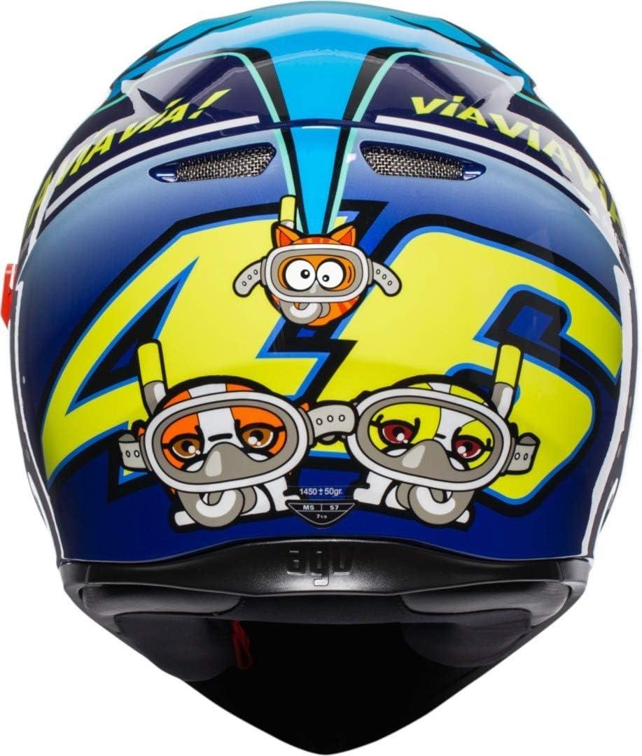 AGV Helm K3 SV Top MPLK rot MISANO 2015 ml