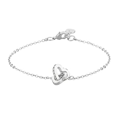 SNÖ of Sweden Women Silver Plated Chain Bracelet - 810-3201012   Amazon.co.uk  Jewellery 3bc6b01c29cac