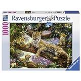 Ravensburger Leopard Family Jigsaw Puzzle (1000-Piece)