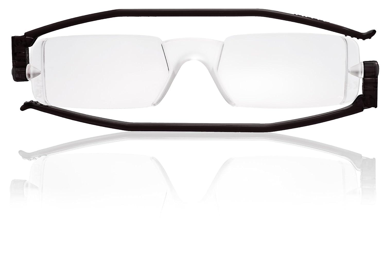 e0c681958c Amazon.com  Nannini Compact One Optics 1.5 Temples Reading Glass (Black)   Automotive