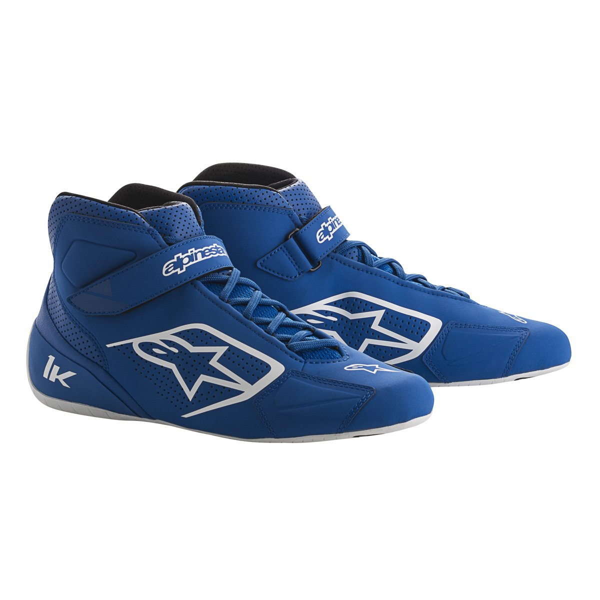 Alpinestars 2712018-72B-12 Tech 1-K Shoes, Blue/Black/White, Size 12