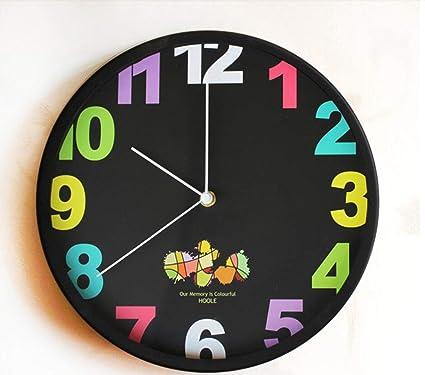 Relojes de Pared Decoración del Hogar Reloj de Pared Creativo Reloj de Pared Digital Reloj Creativo
