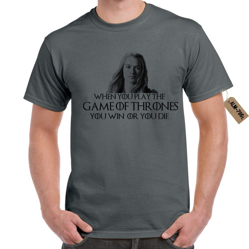 Herren t-shirt You Win Or You Die-Game Of Thrones Inspired lustige ...