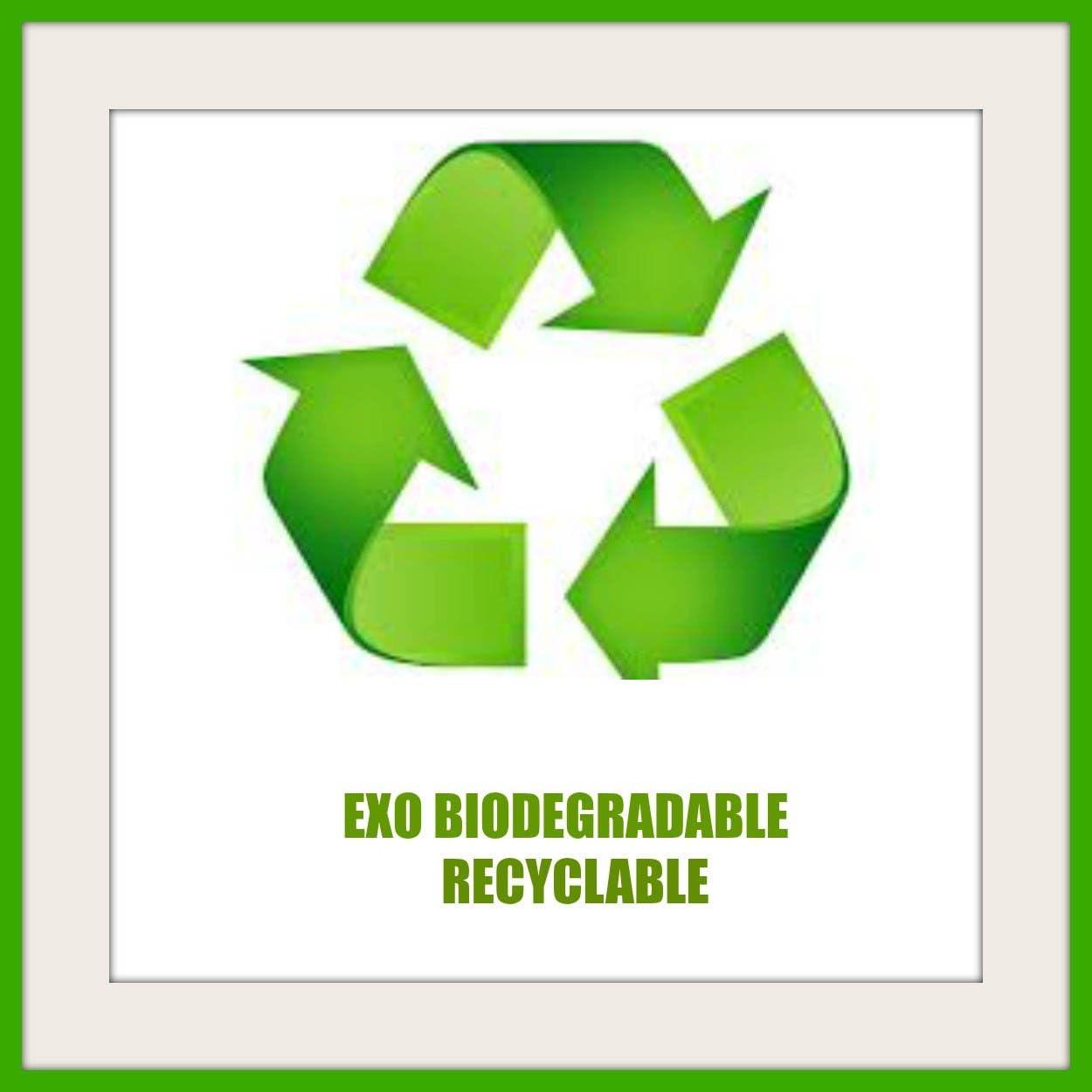 Biodegradable 960 bolsas de caca perro 64 rollos de 15 bolsas de ...