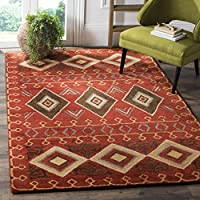 Safavieh Heritage Collection HG404A Red and Multi Area Rug (8 Square)