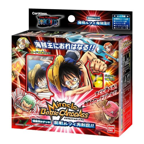 Miracle Battle Card Dasu One Piece Structured Luffy Pirates