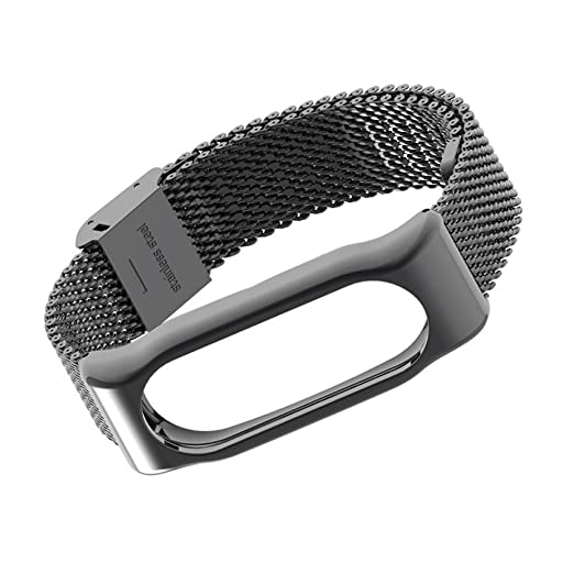 178 opinioni per Xiaomi Mi Band 2 Polso Cinturino in metallo Pinhen pelle La cinghia di vita