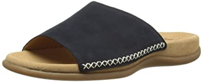 Gabor Shoes Damen Gabor Pantoletten, Blau (Nightblue), 42 EU
