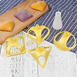 SaveStore New 4pcs/set Dumpling Mold Gadgets