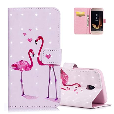 coque samsung j5 2017 flamant rose